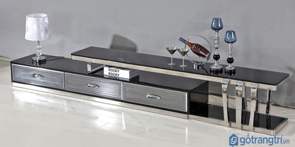 Kệ tivi thông minh nhỏ gọn, tiết kiệm diện tích tối ưu. (Ảnh: internet)