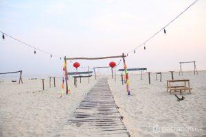 Biển Cảnh Dương xinh đẹp và là địa điểm lý tưởng để du lịch - Ảnh internet