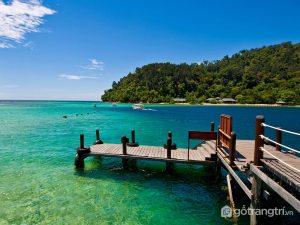 Cảnh đẹp tự nhiên của bãi biển Cảnh Dương - Ảnh internet