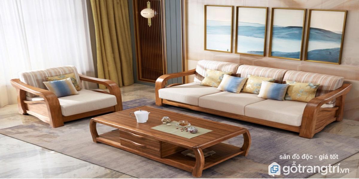 Tổng Hợp Tất Cả Cac Mẫu Ban Ghế Sofa Gỗ Phong Khach đẹp Hiện đại