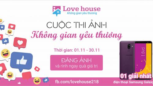 Cuộc thi ảnh không gian yêu thương - My Love House