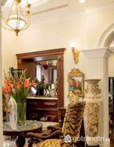 Biệt thự đẹp dát vàng 300 tỷ bí ẩn của hoa hậu Ngô Mỹ Uyên - Ảnh Internet
