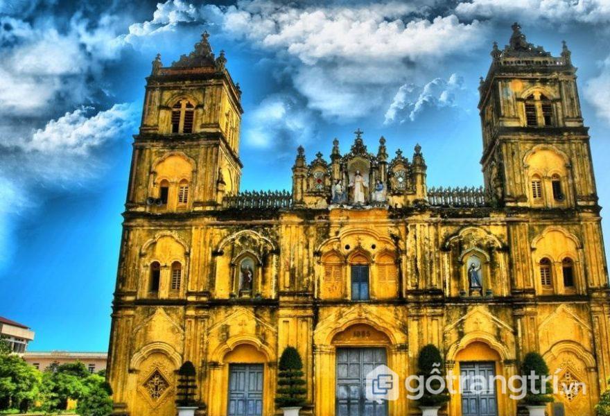 Mãn nhãn vẻ đẹp kiến trúc độc đáo của các nhà thờ ở Nam Định (P1)