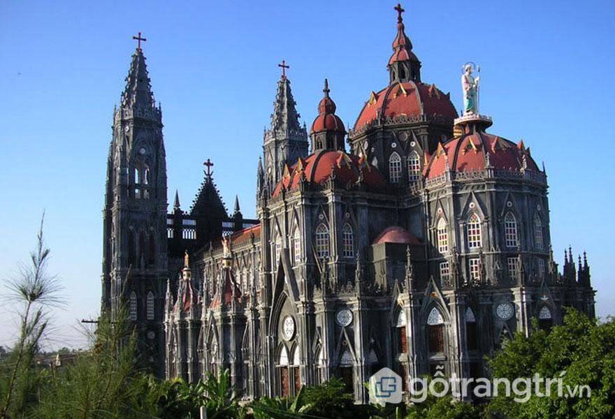 Các nhà thờ ở Nam Định: Đền thánh Hưng Nghĩa (Ảnh internet)