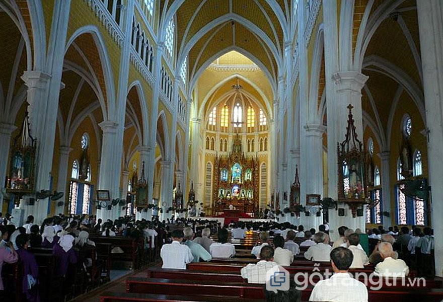 Các nhà thờ ở Nam Định: Đền thánh Kiên Lao (Ảnh internet)