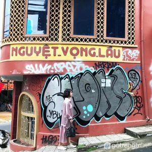 Nguyệt Vọng Lầu là điểmchụp ảnh đẹp ở Đà Lạt được nhiều người yêu thích - Ảnh internet