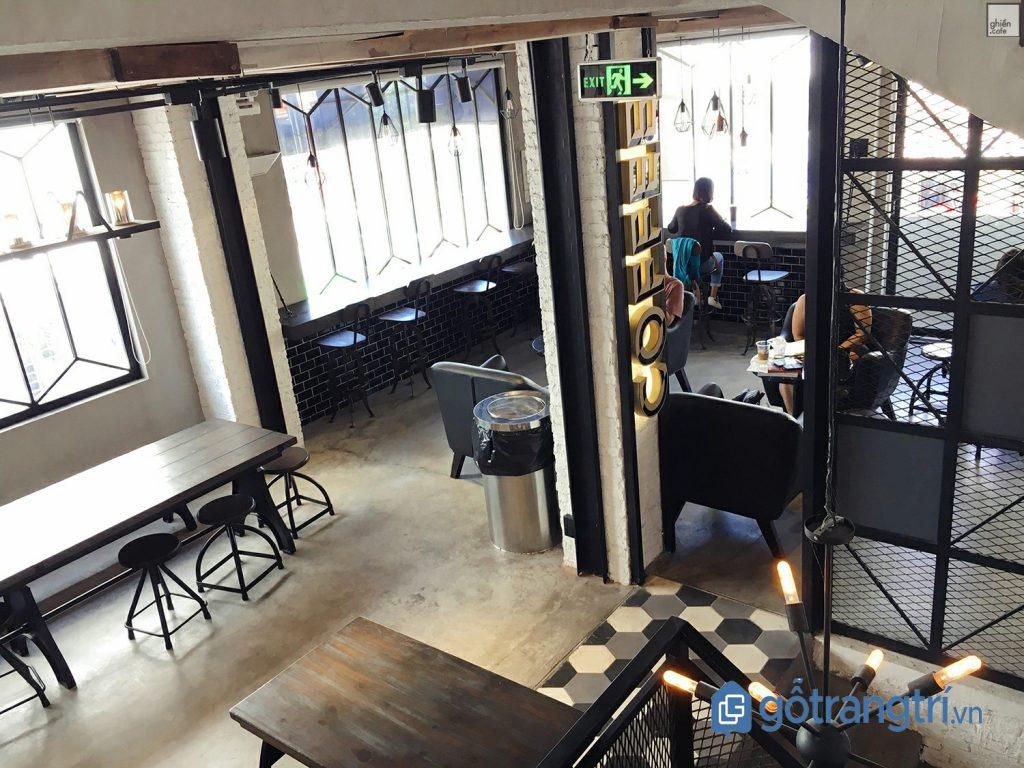 Quán cà phê dành cho dân văn phòng không gian hiện đại. (Ảnh: internet)