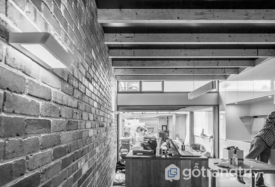 Quá trình thiết kế và xây dựng căn bếp trong công trình hệ sinh thái Alexandria House - Ảnh: Internet