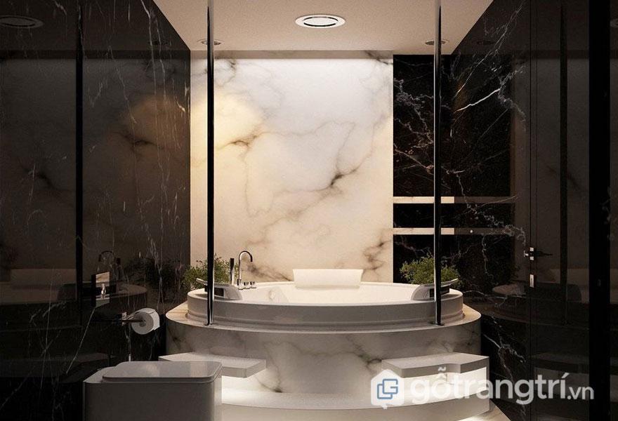 Phòng tắm phong cách sang trọng (Ảnh sưu tầm)