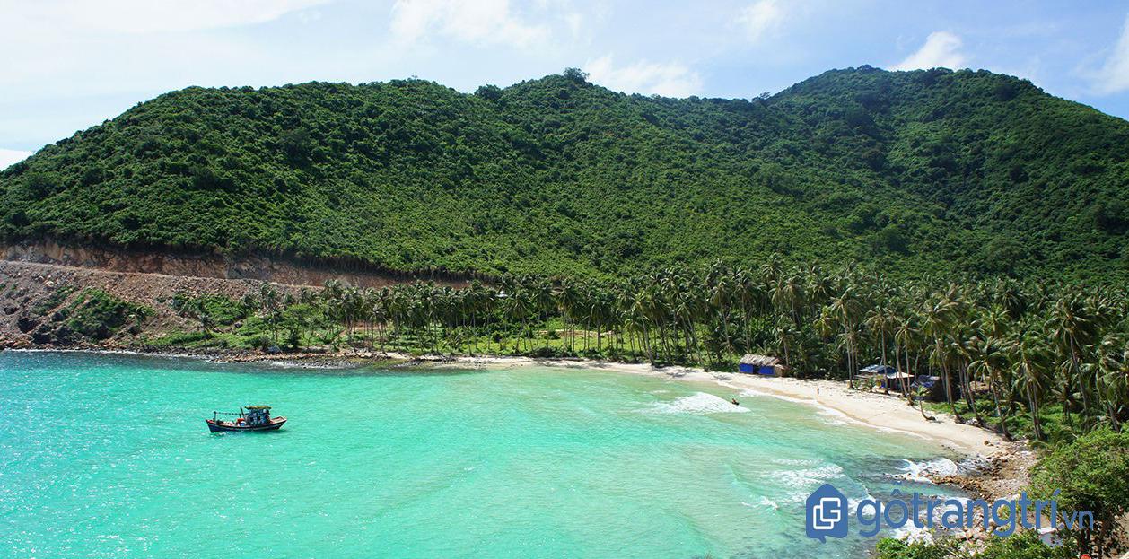 Đảo Nam Du với bãi biển xanh cát trắng (Ảnh Internet)