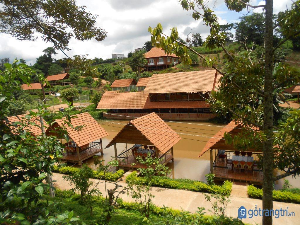 Trải nghiệm chuyến du lịch Buôn Ma Thuột tại Buôn Ako Dhong. (Ảnh: internet)