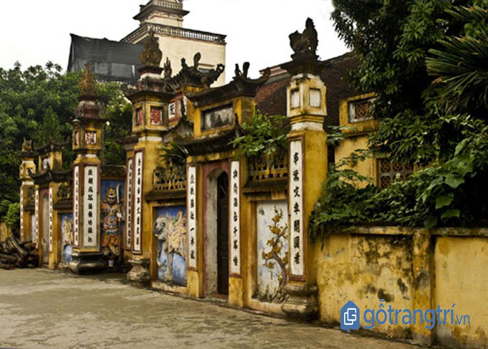 Đình thờ họ Nguyễn Trái, thuộc làng Nhị Khê, Thường Tín, Hà Nội. (Ảnh: Internet)
