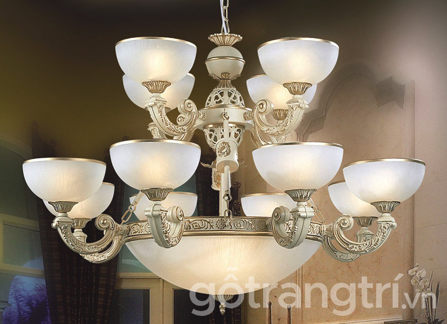 Mẫu đèn trang trí treo tường phòng khách
