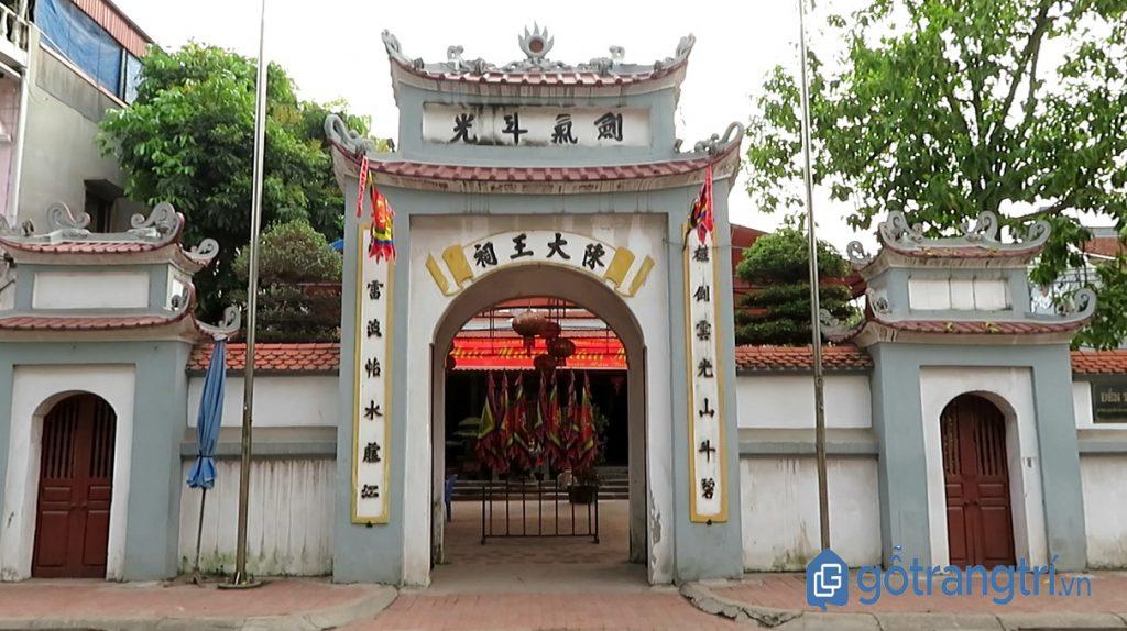 Khu di tích Đền Trần, Phố Hiến, Hưng Yên. (Ảnh: Internet)