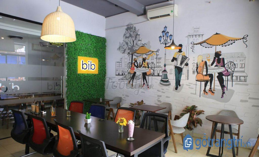 Không gian làm việc tại quán cà phê dành cho dân văn phòng. (Ảnh: Internet)