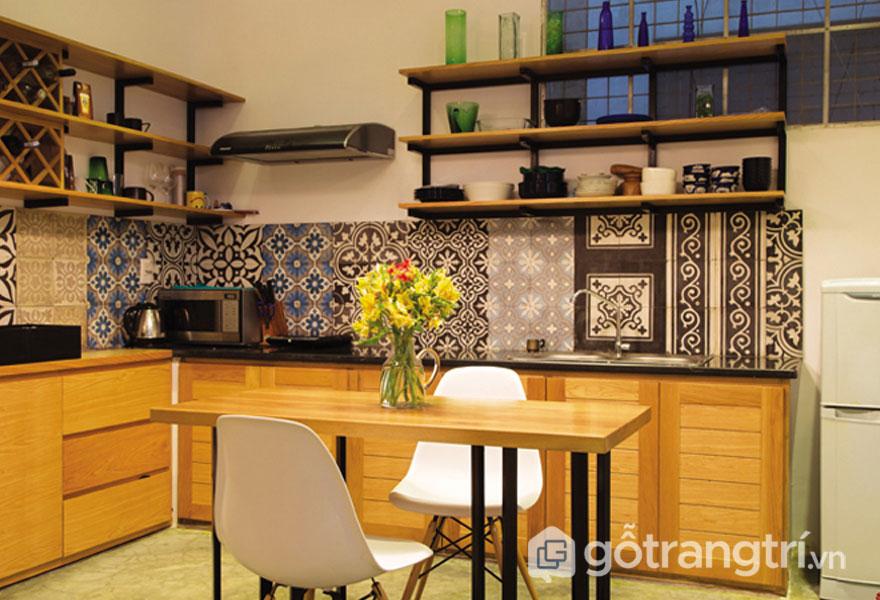 Gạch ốp lát Ceramic phòng bếp - Ảnh: Internet