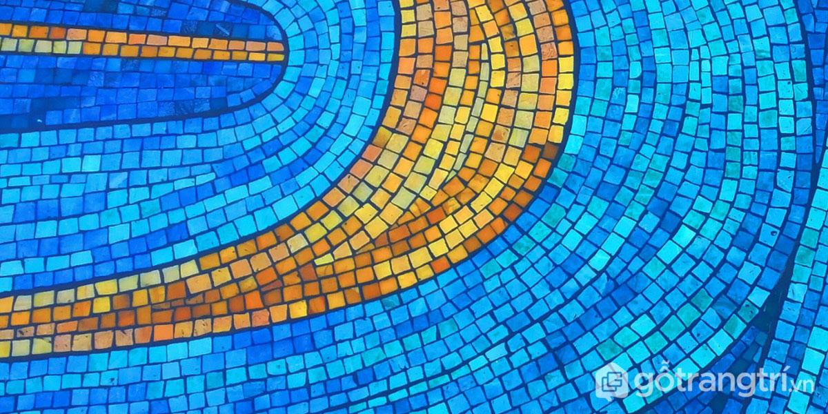 """""""Bật mí"""" ưu điểm nổi bật về dòng gạch mosaic trang trí hiện nay"""