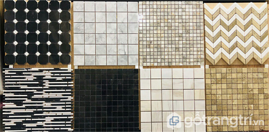 Gạch Mosaic đá Marble - Ảnh: Internet