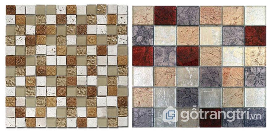 Gạch Mosaic men - Ảnh: Internet