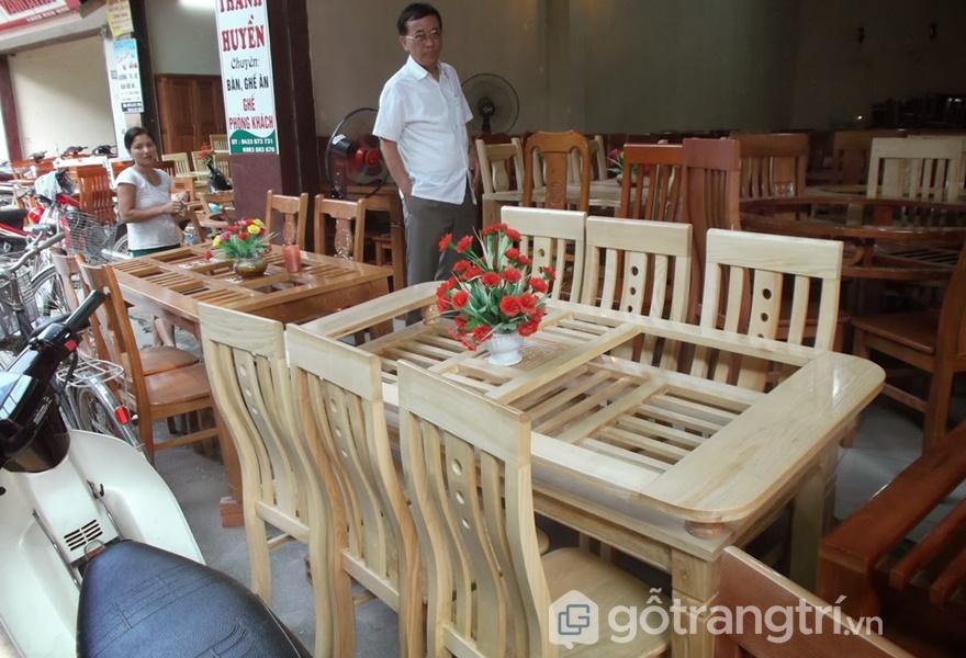 Làng nghề sản xuất nội thất Thanh Đa – Hà Nội (ảnh internet)