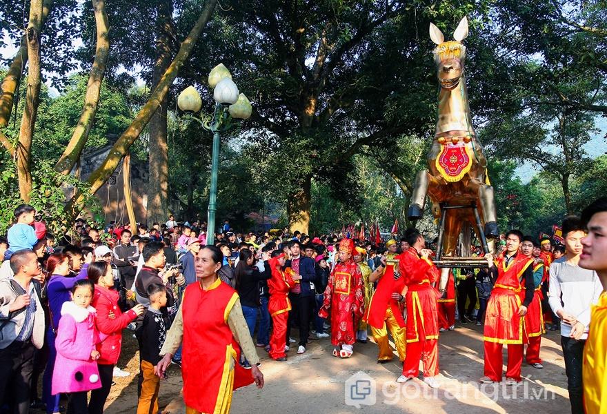 Hội Gióng ở Sóc Sơn, Hà Nội (ảnh: internet)