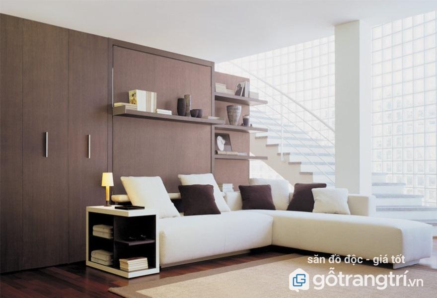 giường kết hợp ghế sofa