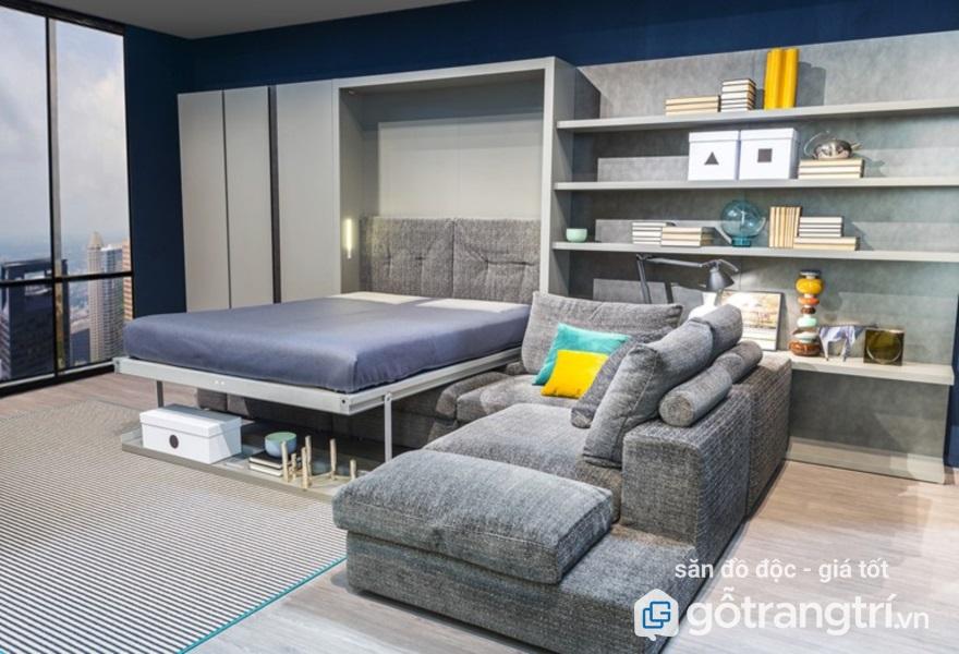 giường kết hợp ghế sof