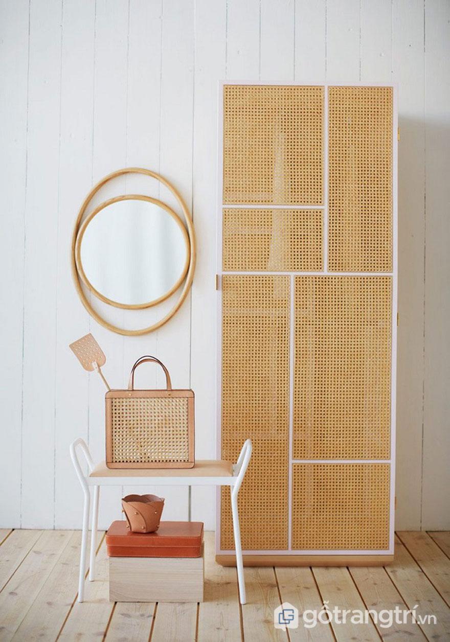 Gỗ lưới trang trí - Vật liệu trang trí nội thất đảm bảo nhìn là mê ngay - Ảnh: Internet