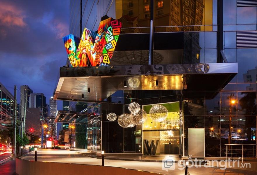 W Hotels – Một thường hiệu khách sạn nổi tiếng sang trọng bậc nhất xuất hiện đầu tiên tại Trung Mỹ (Ảnh: Designboom)