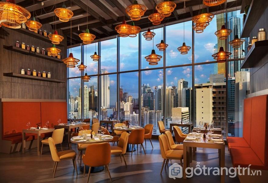 Không gian bên trong khách sạn nổi tiếng W Panama (Ảnh: Designboom)