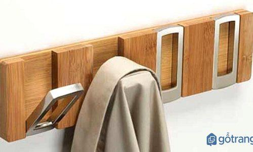 Móc treo quần áo gỗ - giải pháp cho ngôi nhà thêm đẹp gọn gàng