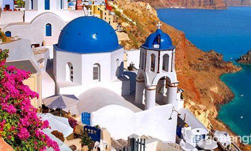 Tìm hiểu phong cách kiến trúc mái vòm đặc trưng ở Santorini (P2)