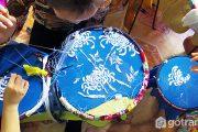 Dấu ấn tinh hoa qua làng nghề thêu tranh truyền thống Quất Động