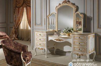 Top những mẫu bàn trang điểm cổ điển đẹp cho không gian nội thất