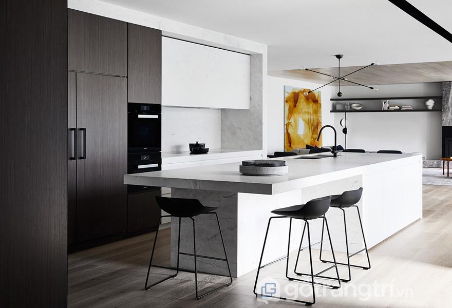 Cải thiện không gian sống với thiết kế căn bếp thông minh và khéo léo (Ảnh Internet)