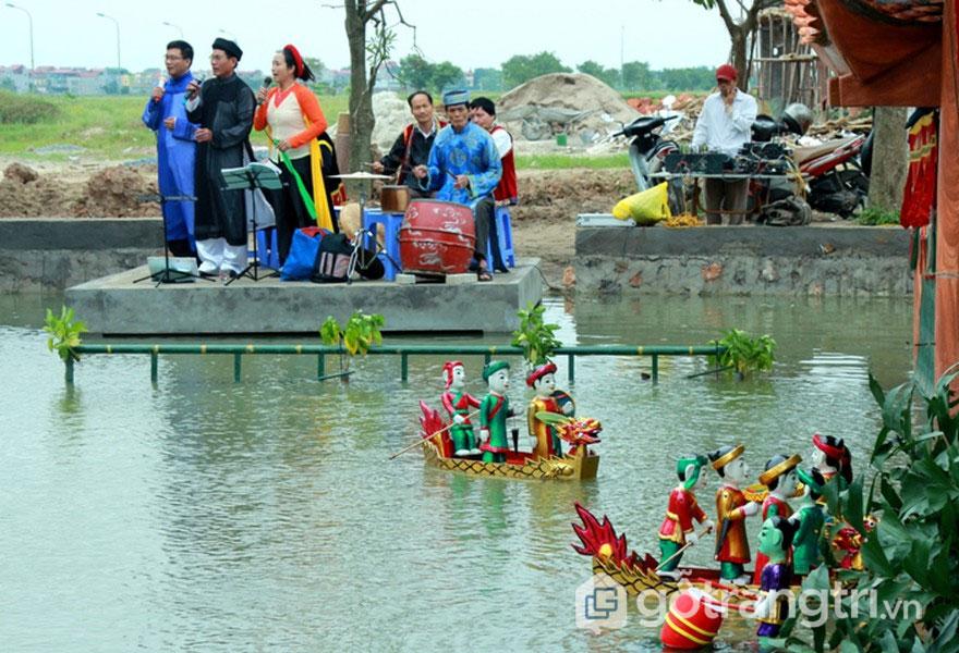 Nghệ thuật múa rối nước mang đậm dấu ấn, tinh thần người Việt - Ảnh: Internet