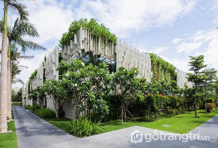 Naman Pure Spa: Kiến trúc spa đẹp được bạn bè quốc tế đánh giá cao - Ảnh: Internet