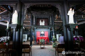Ngôi nhà cổ nhất này do chúa Nguyễn Ánh xây dựng để dành riêng cho Giám mục Bá Ða Lộc - Ảnh internet