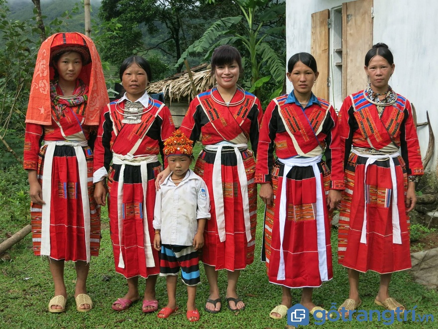 Người Pà Thẻn sống tập trung ở vùng núi cao phía Bắc (Ảnh: Internet)
