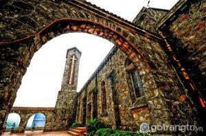 Nhà thờ đá Tam Đảo - Ảnh internet