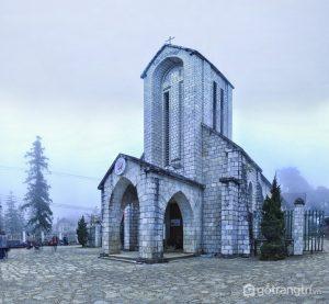 Hình ảnh Nhà thờ đá Sapa - Ảnh internet