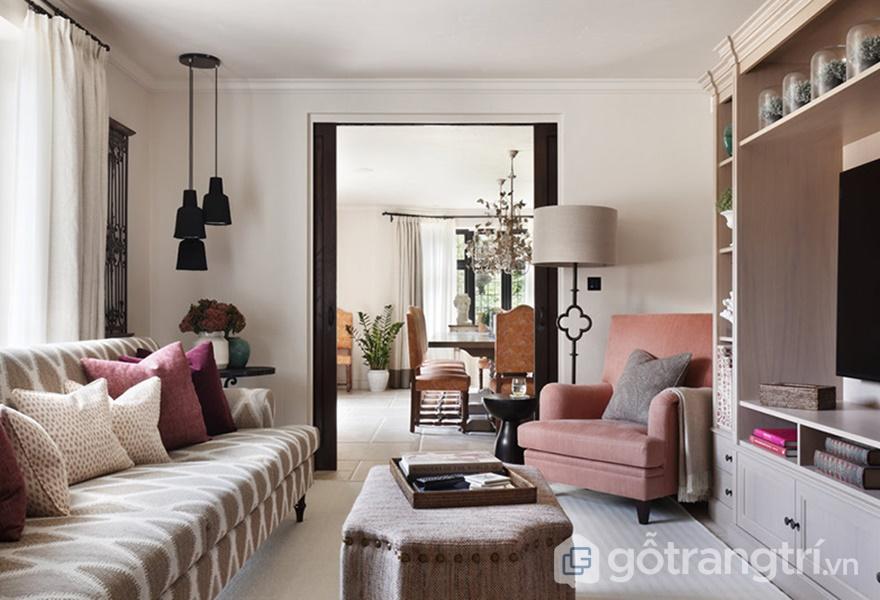 Hình ảnh mái vòm còn được ứng dụng trong cả những món đồ nội thất (Ảnh internet)
