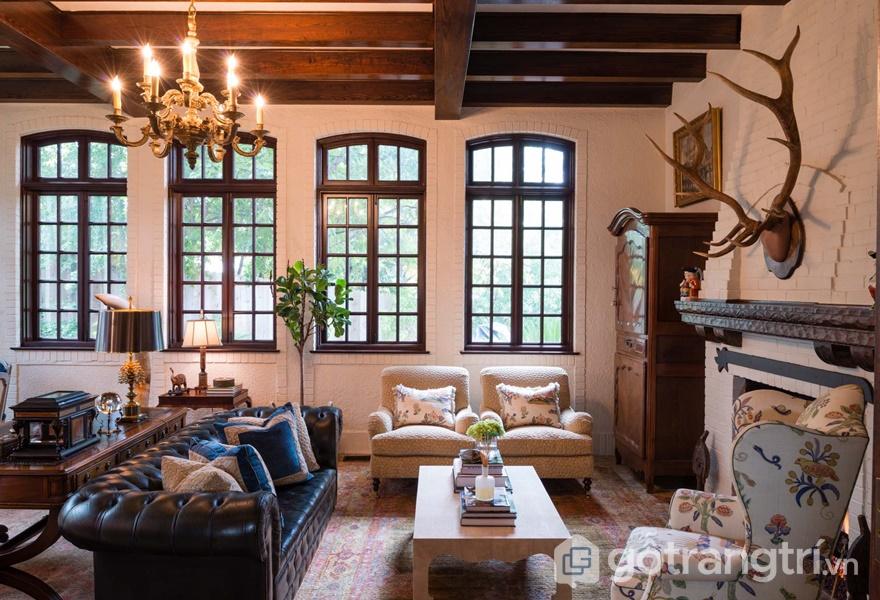Thiết kế cửa sổ mang phong cách Tudor (Ảnh internet)