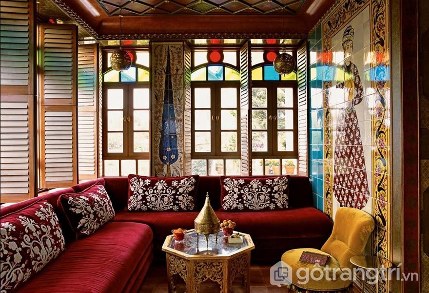 Thiết kế nội thất đậm chất Trung Hoa (ảnh internet)