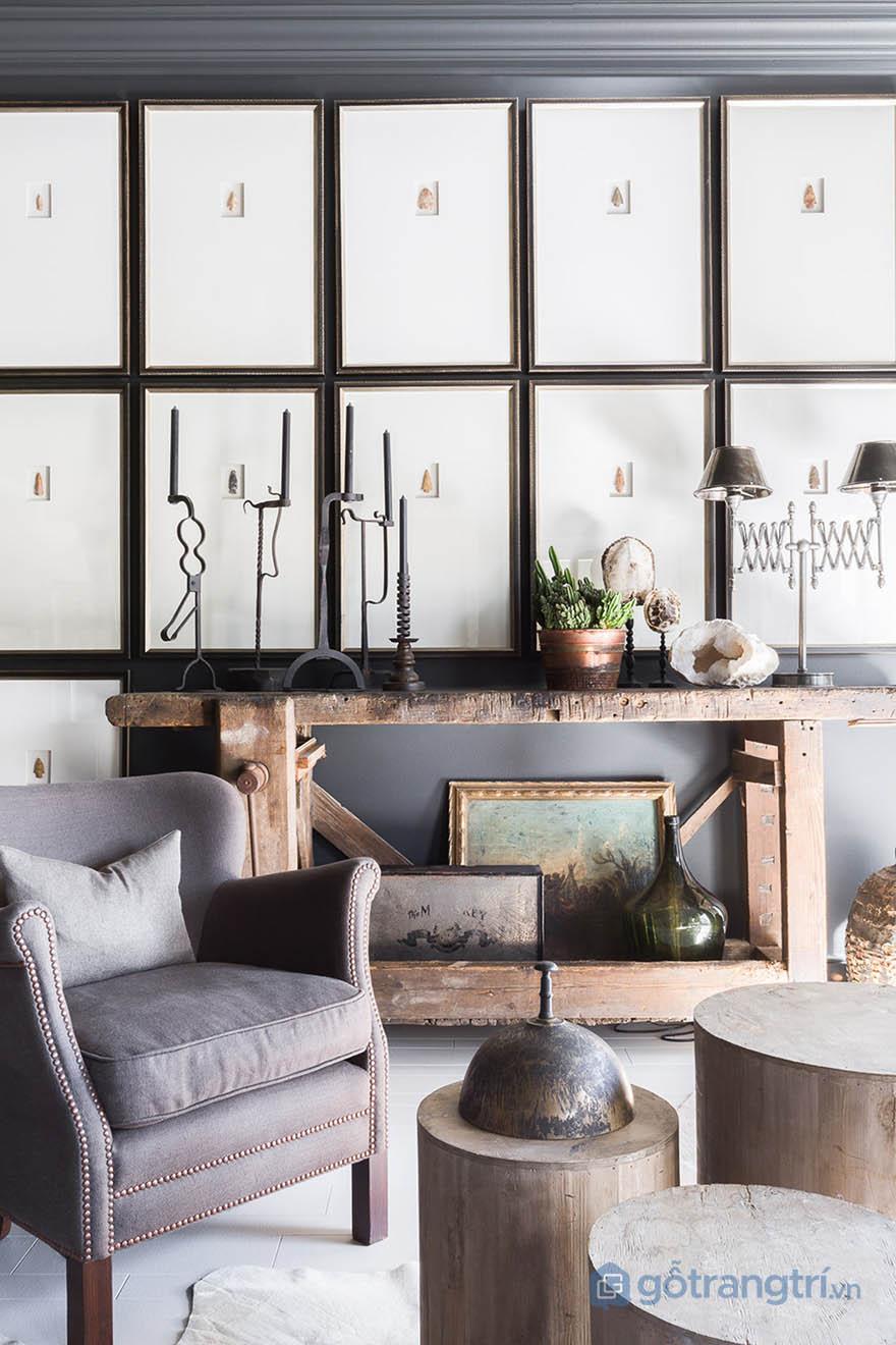 Yếu tố cá nhân được đề cao trong thiết kế căn hộ phong cách Tudor của Sean Anderson (ảnh Alyssa Rosenheck)