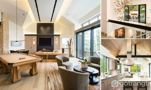 Ứng dụng phong cách hiện đại tự nhiên trong thiết kế căn hộ đẹp