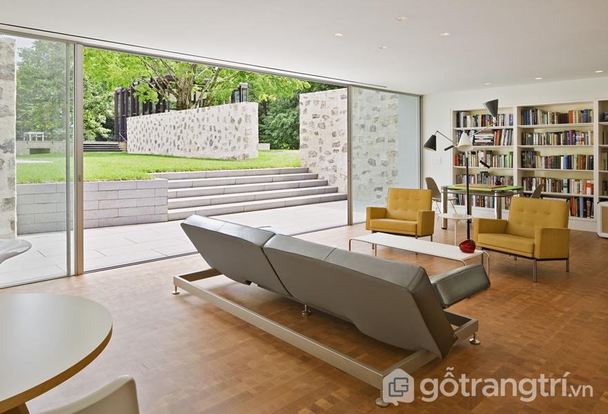 Phong cách nội thất hiện đại tự nhiên có thể ứng dụng linh hoạt (ảnh internet)