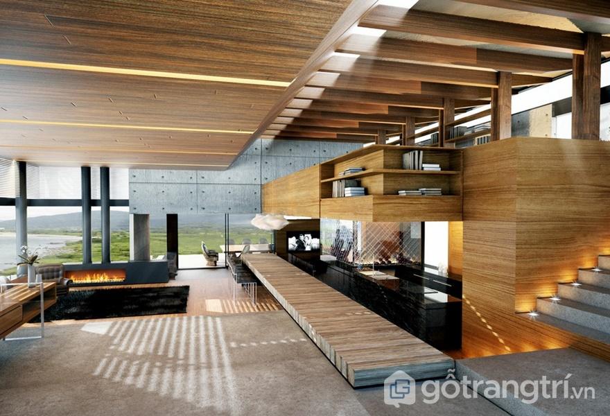 Những mẫu thiết kế nội thất hiện đại trong căn hộ (ảnh internet)