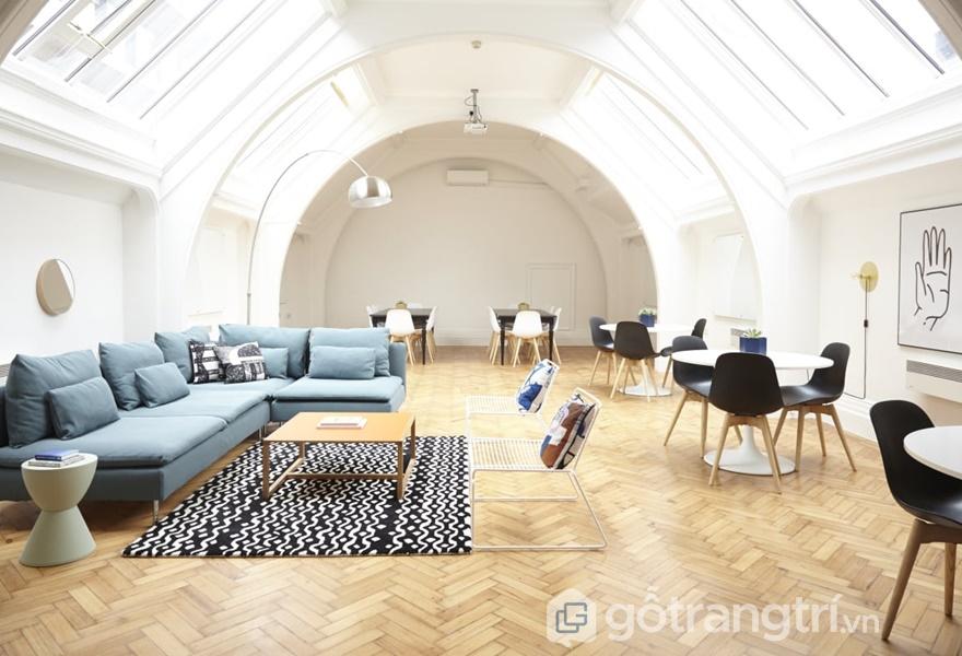 Những kiểu dáng nội thất thon gọn được ưu tiên lựa chọn trong phong cách nội thất Streamlining (ảnh internet)