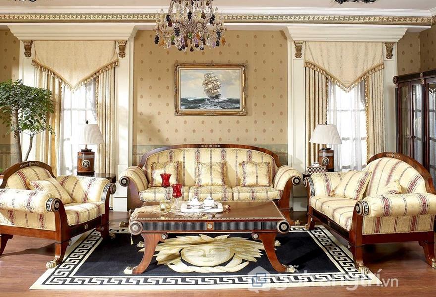 Phong cách nội thất Renaissance mang khuynh hướng cổ điển (ảnh internet)